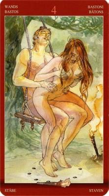 Таро сексуальной магии галерея
